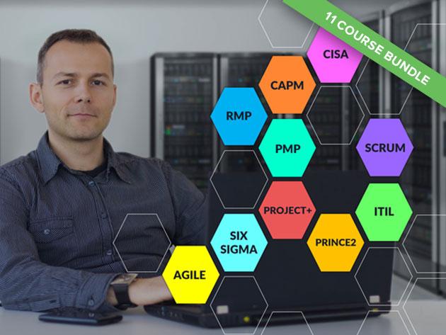 IT Process & Project Management: 11-Course Super Bundle for $59