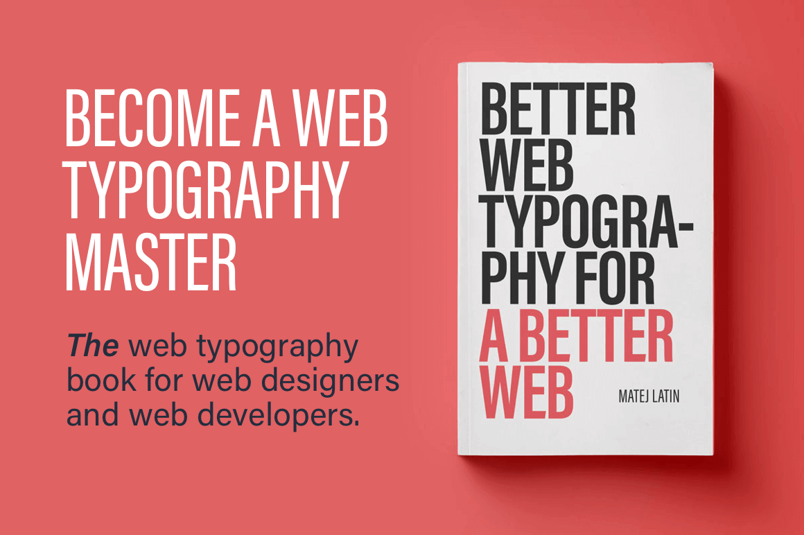 eBook: Better Web Typography for a Better Web – only $13!