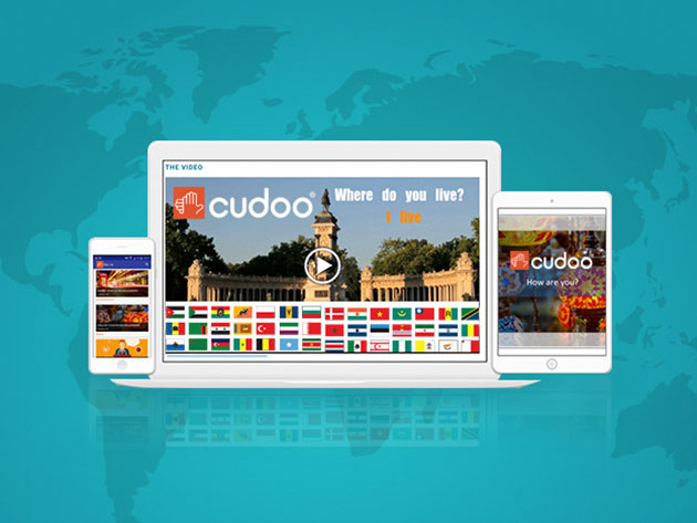 Cudoo Online Language & Professional Development Library: 2-Yr Access for $29