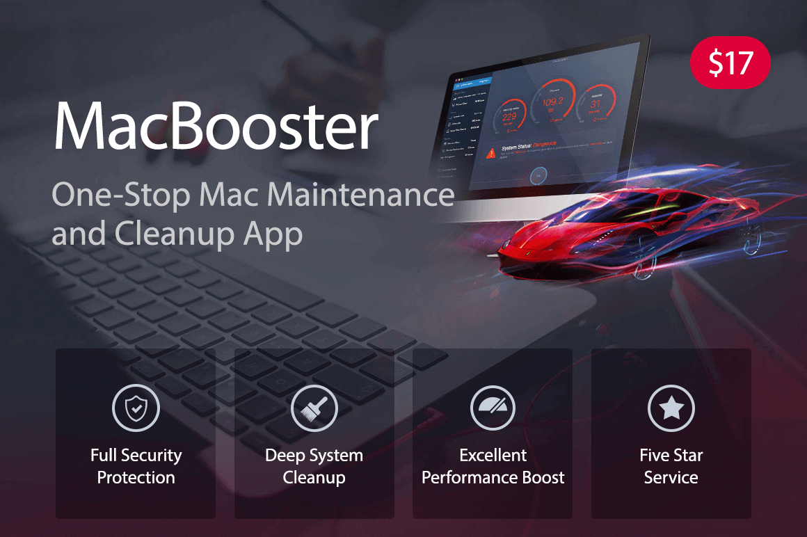 MacBooster 5: The One-Stop Mac Maintenance and Cleanup App -  only $17!