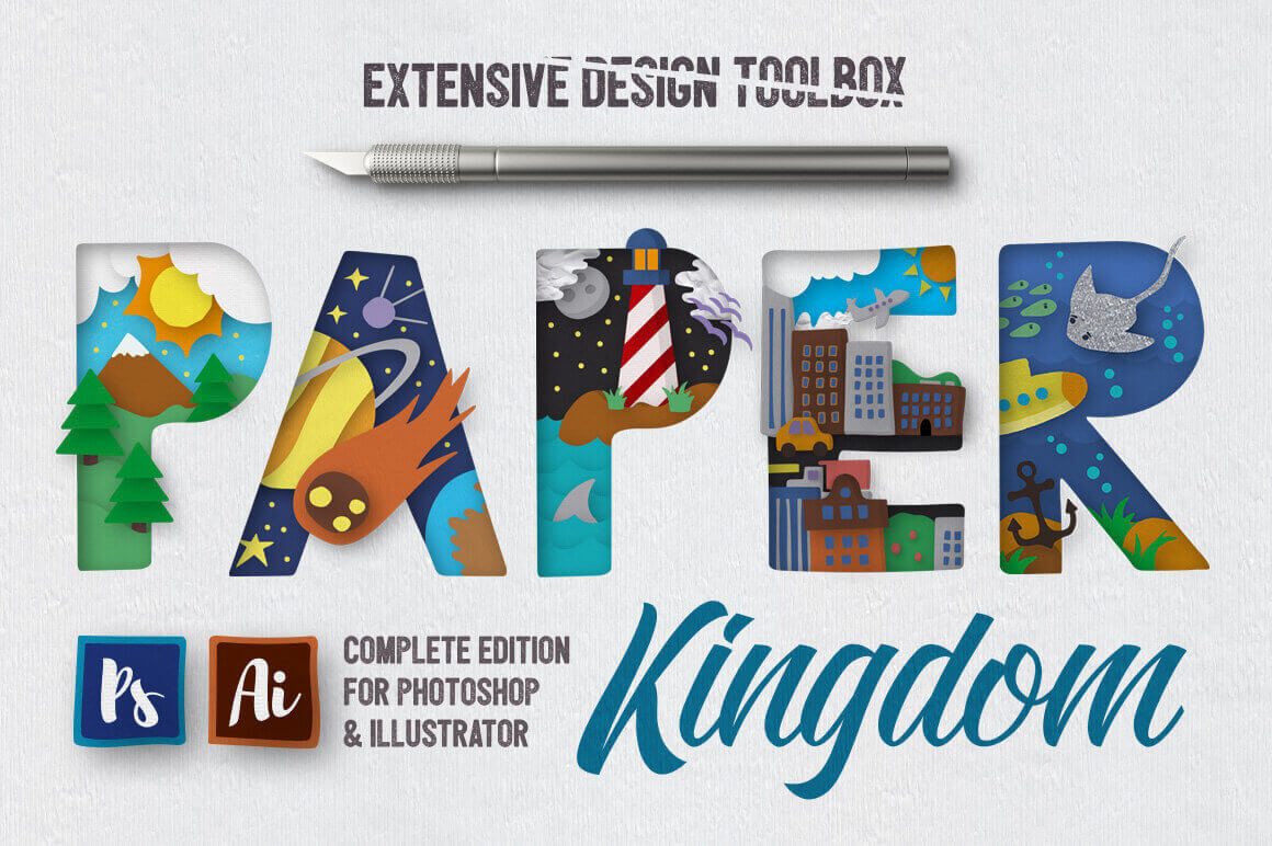 Paper Kingdom Design Toolbox – Complete Edition – only $15!