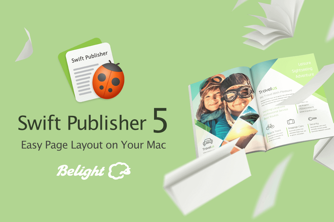 Swift Page Layout and Desktop Publisher for Mac – only $12!