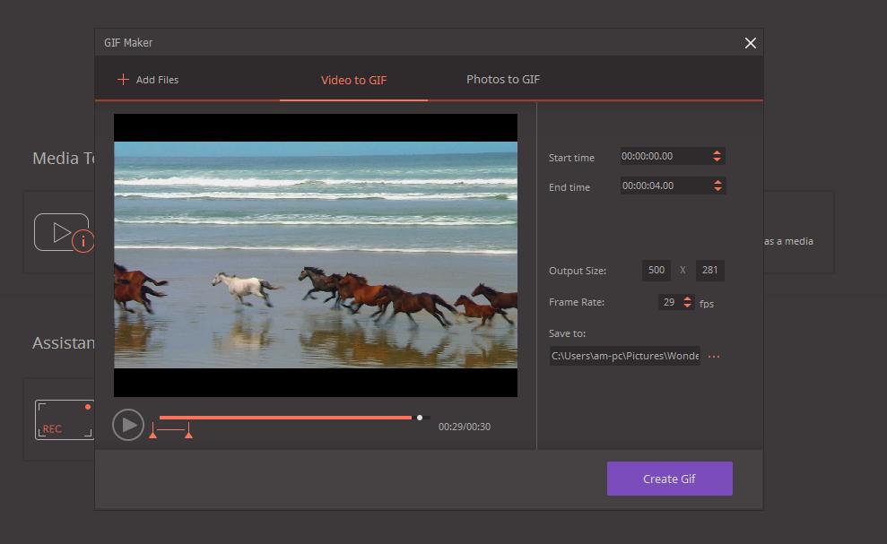 Video Converter - Gif Maker