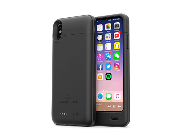 4000mAh Extended Battery Case for iPhone X for $39