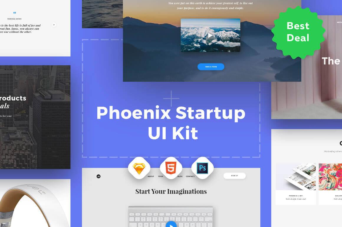 Phoenix Startup UI Kit – only $34!
