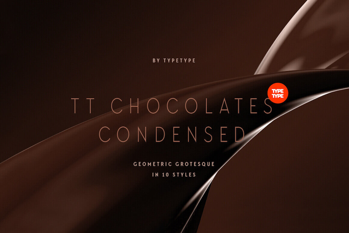 Sweeten Up Your Typeface Toolbox with Chocolates Condensed – only $9!