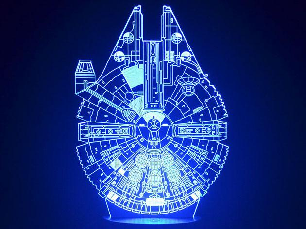 Star Wars 3D Mega Lamps for $39