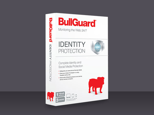 BullGuard Identity Protection Suite for $29