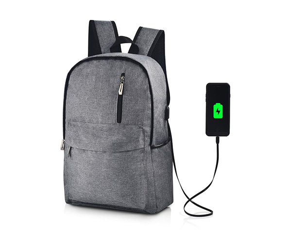 Something Strong Charging Backpack for $39