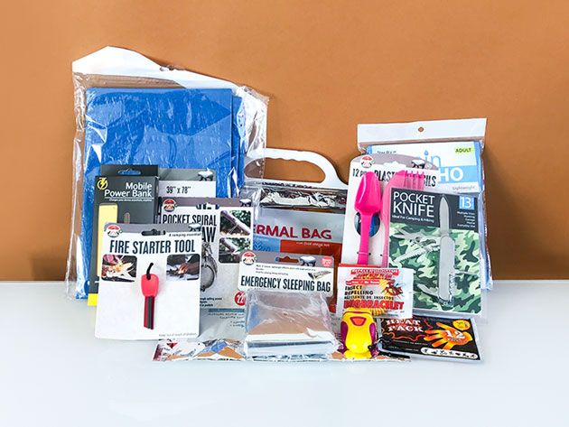 Emergency Kit in a Box for $34