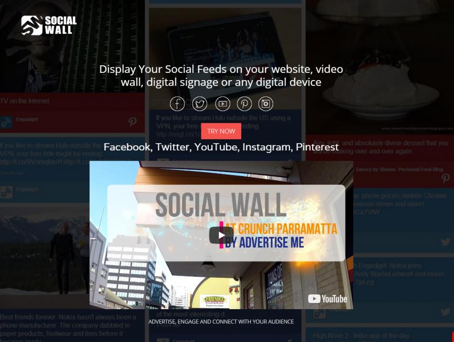 Business Legions - Social Wall