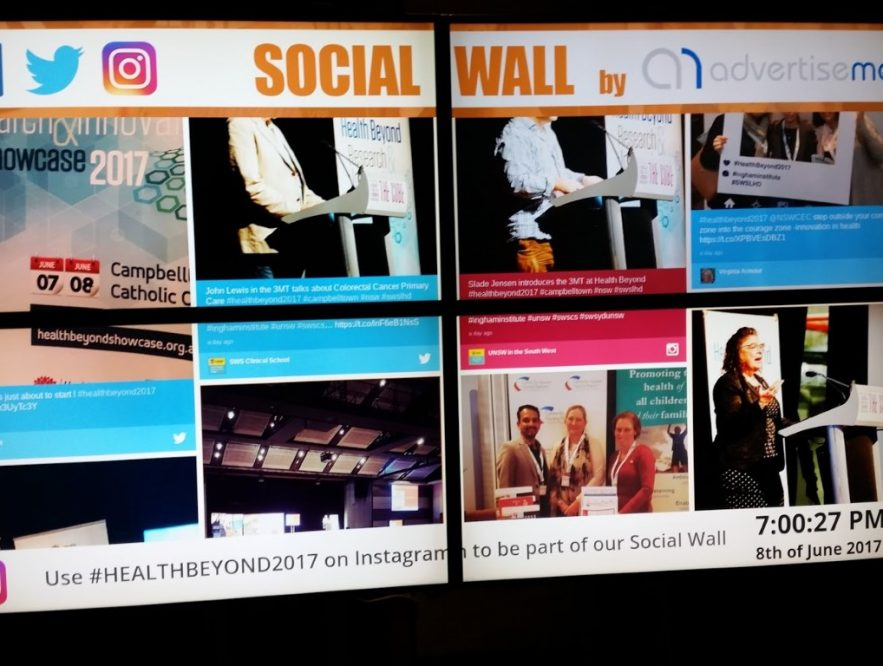 Business Legions Social Wall Expo Conference