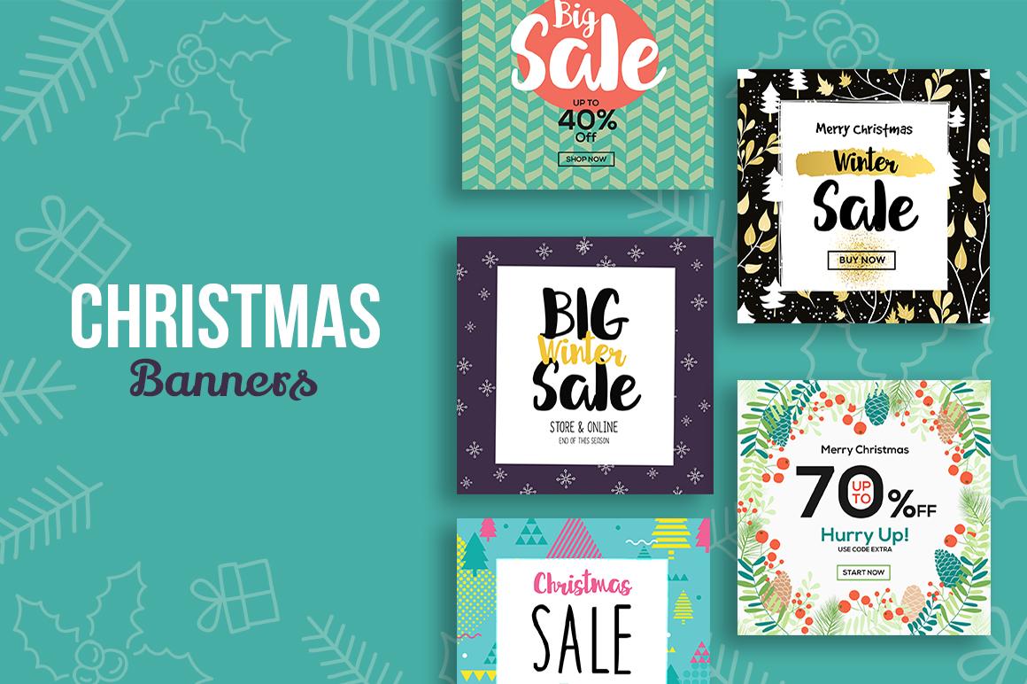 [Freebie] The 2017 Christmas Graphics Bundle