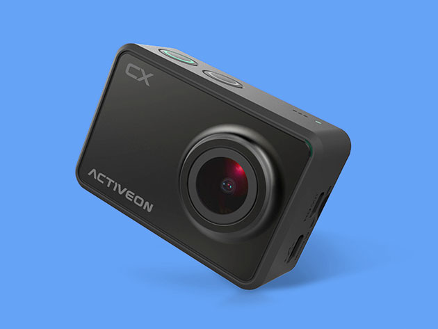 Activeon CX 1080p WiFi Action Camera for $36