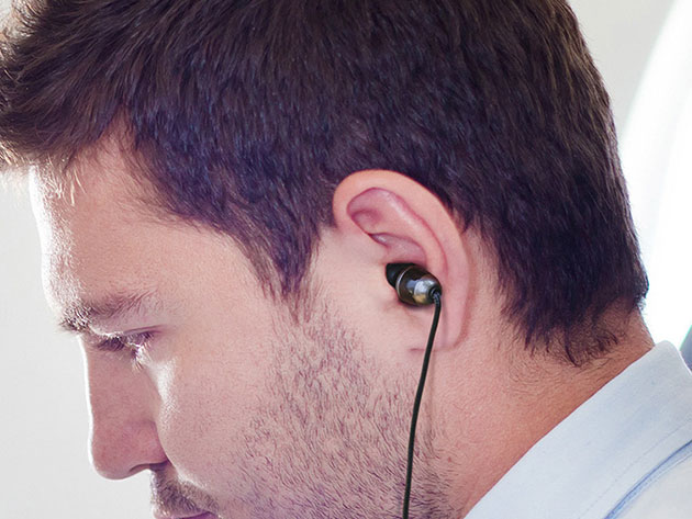 ISOtunes® Wired Noise-Isolating Earbuds for $29
