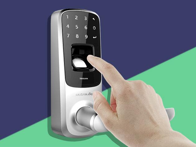 Ultraloq UL3 Bluetooth Fingerprint and Touchscreen Smart Lock for $168