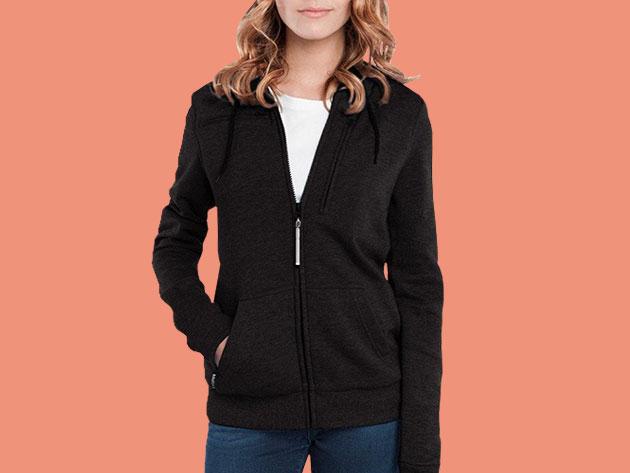 BauBax: The World's Best Travel Sweatshirt for Women (Black) for $109