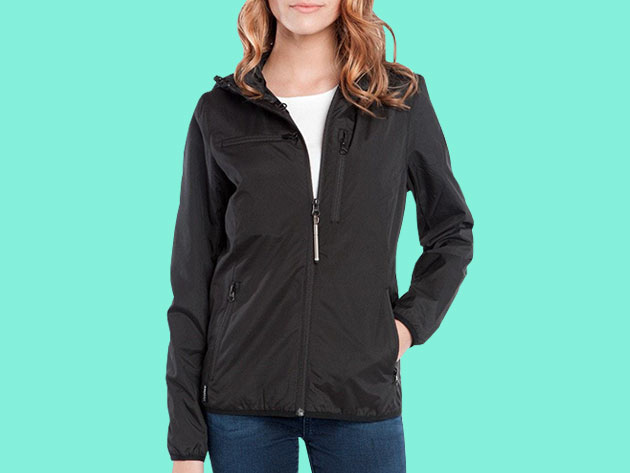 BauBax Women's Windbreaker (Black/S) for $109