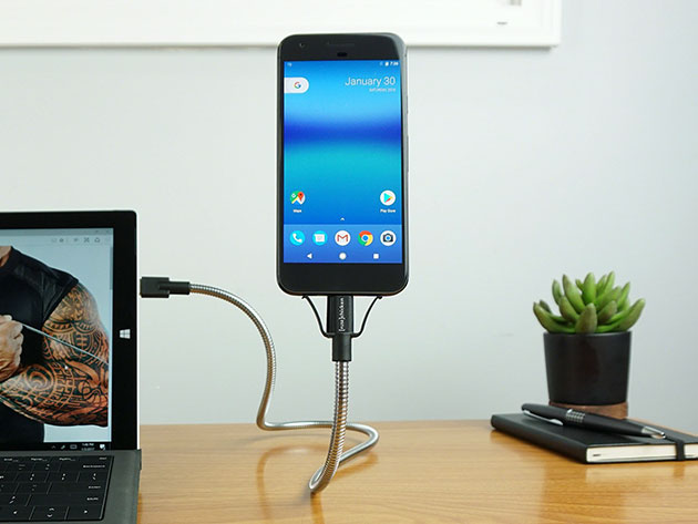 BOBINE FLEX C: The World's Most Flexible Android Dock for $19