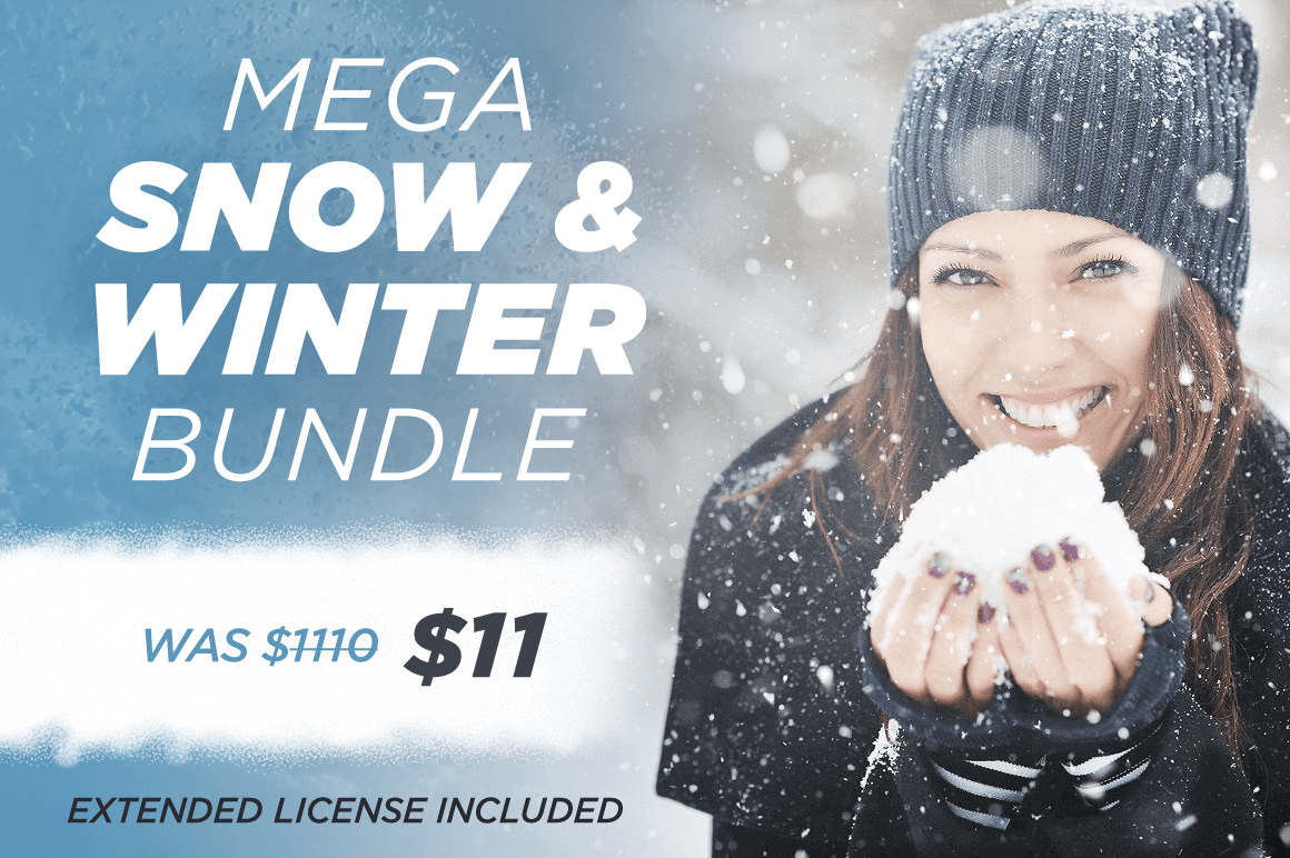 Mega Snow & Winter Bundle from Feingold Design – only $11!
