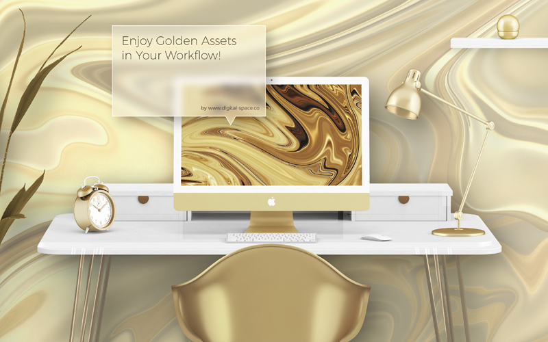 300 Liquid Gold Backgrounds to create eye catchy web designs