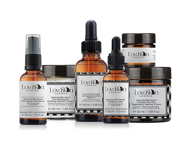 Exclusive 'LovoSkin London' Bee Venom 6-Piece Skincare Kit for $224