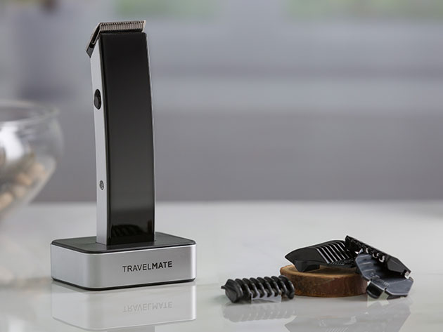TravelMate Hair Clipper Kit for $20