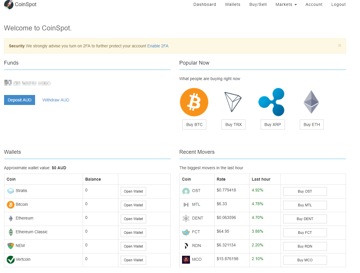 Business Legions - Cryptocurrency Exchange - CoinSpot