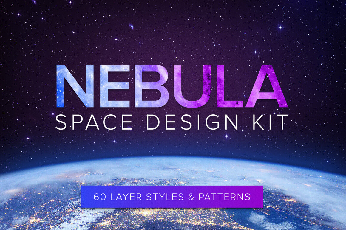 Create Stellar Designs with Nebula Space Design Kit – only $7!