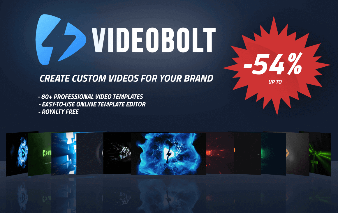 Easily Whip Up Custom Videos for Your Brand with Videobolt – only $24!