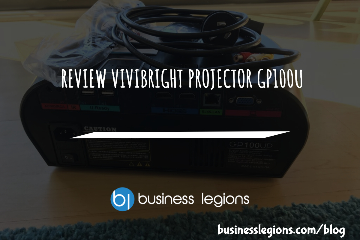 REVIEW VIVIBRIGHT PROJECTOR GP100U