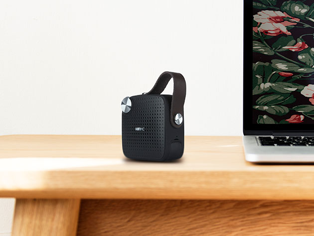 HIFI MC Micro Portable Music System for $22