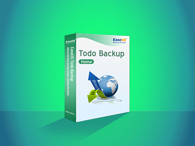 Todo Backup Home + Data Recovery Wizard Pro for Windows for $49