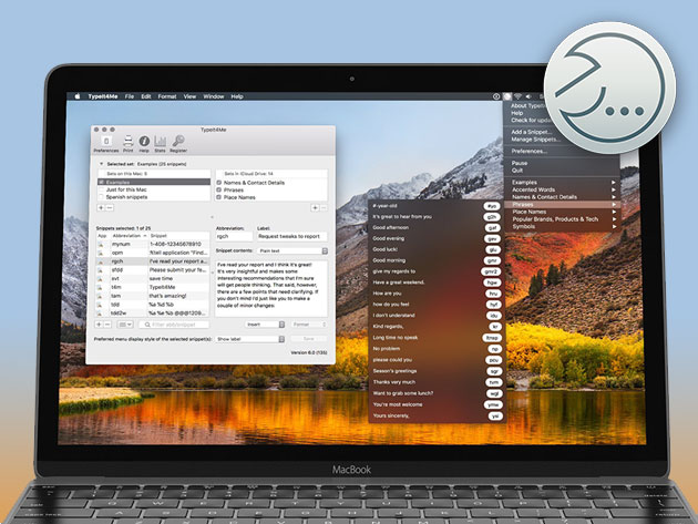 TypeIt4Me for Mac for $9
