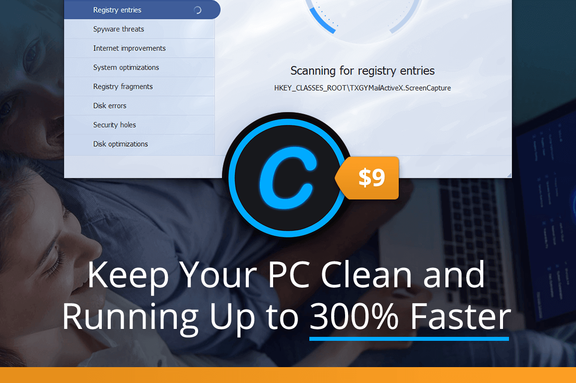 Keep Your PC Clean and Running Up to 300% Faster – only $9!