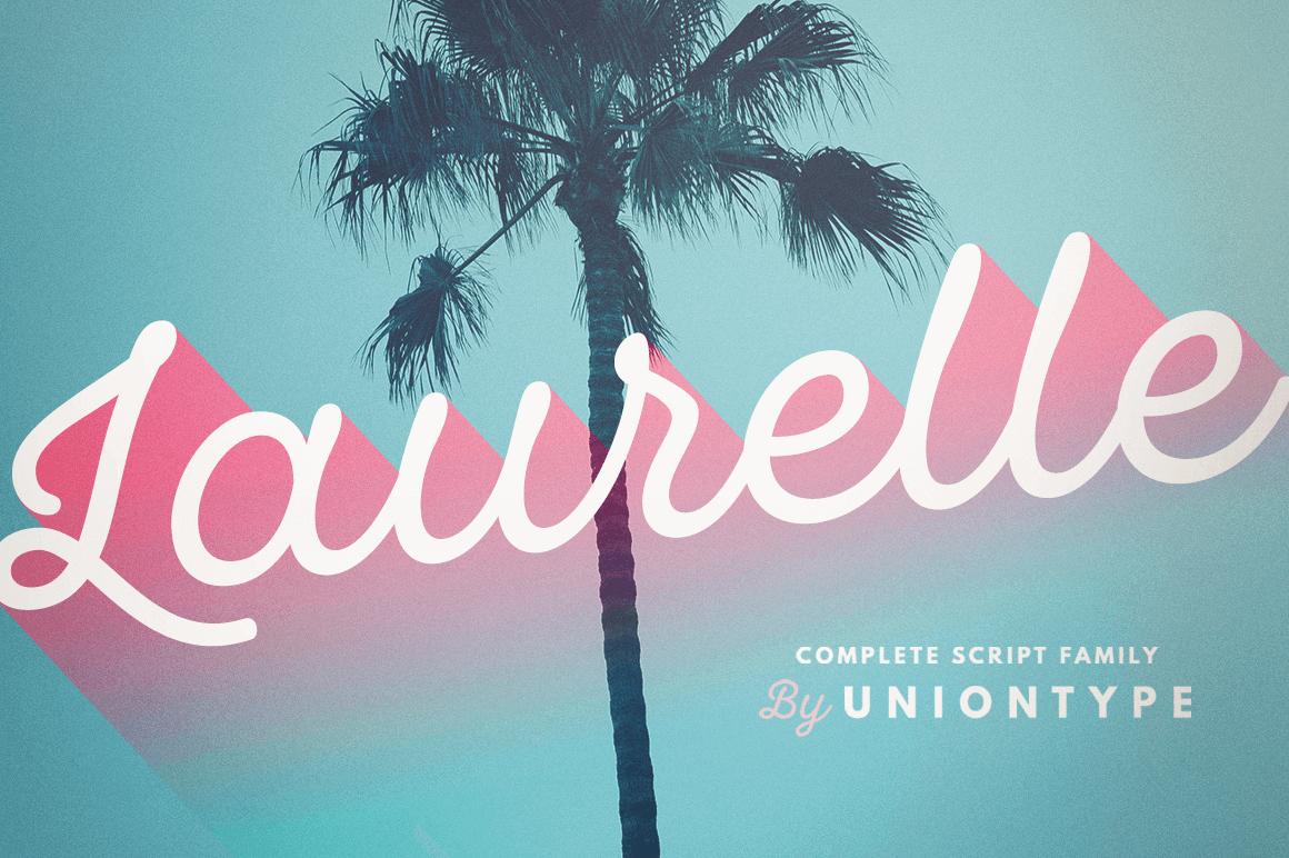 Laurelle Script Family – only $9!