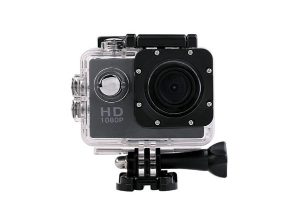 HD Wide Angle Waterproof Action Cam for $48