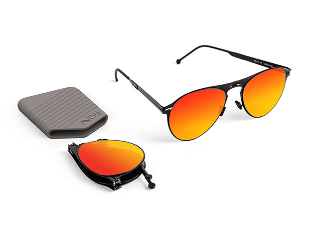 Earhart: Black and Red Mirror for $89