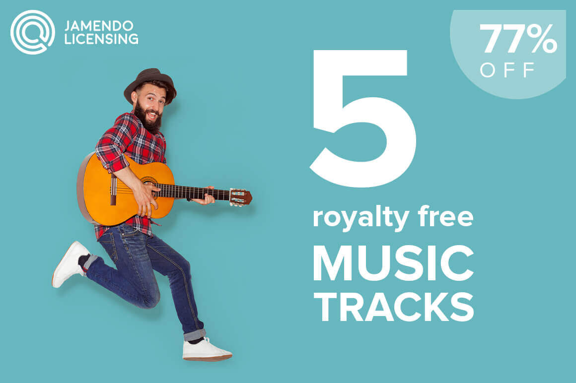 Jamendo's Music Bundle – License 5 Tracks of Your Choice for only $47!