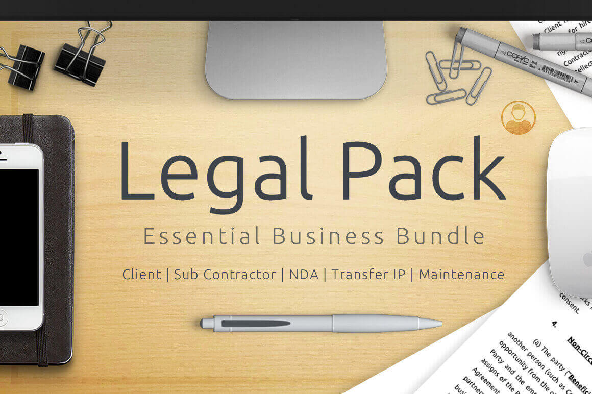 Protect Your Business with a Legal Pack of Essential Business Documents - only $29!