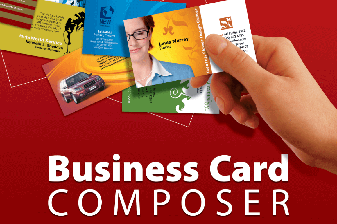 Business Card Composer for Mac – only $12!