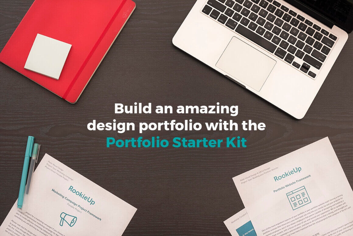 Create the Perfect Portfolio with the Design Portfolio Starter Kit – only $24!