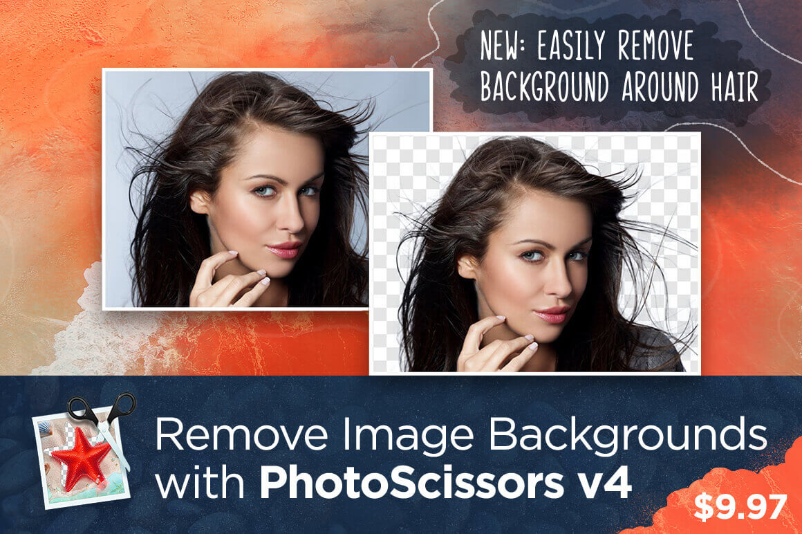 Remove Image Backgrounds with PhotoScissors 4 – only $9.97!