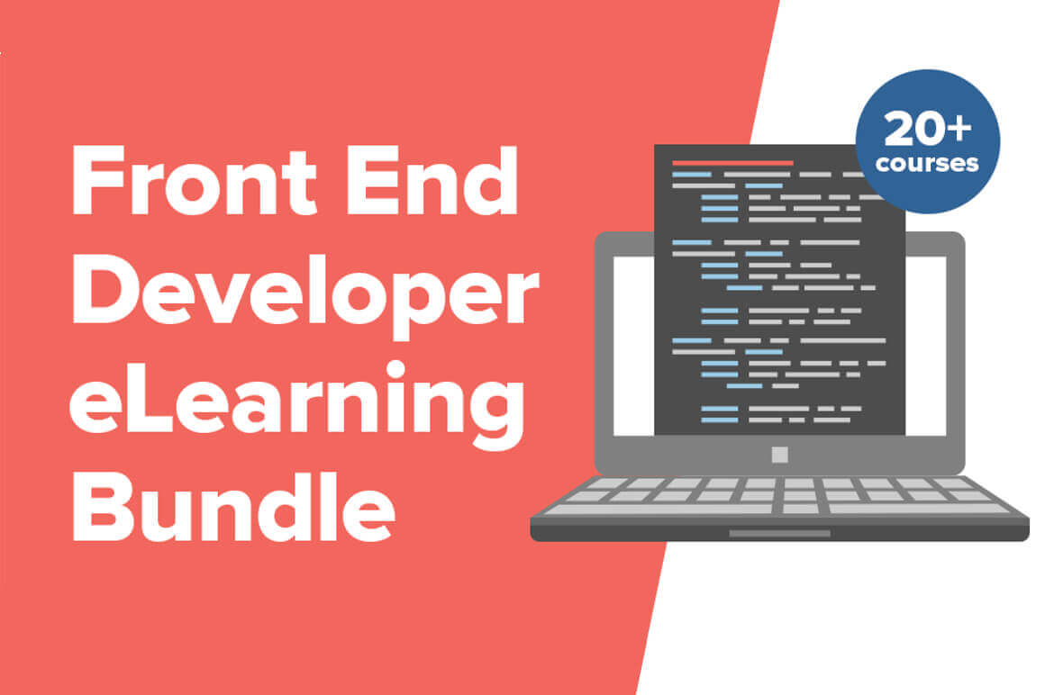 Front End Developer eLearning Bundle, 20 Course/120+ Hours – only $22!