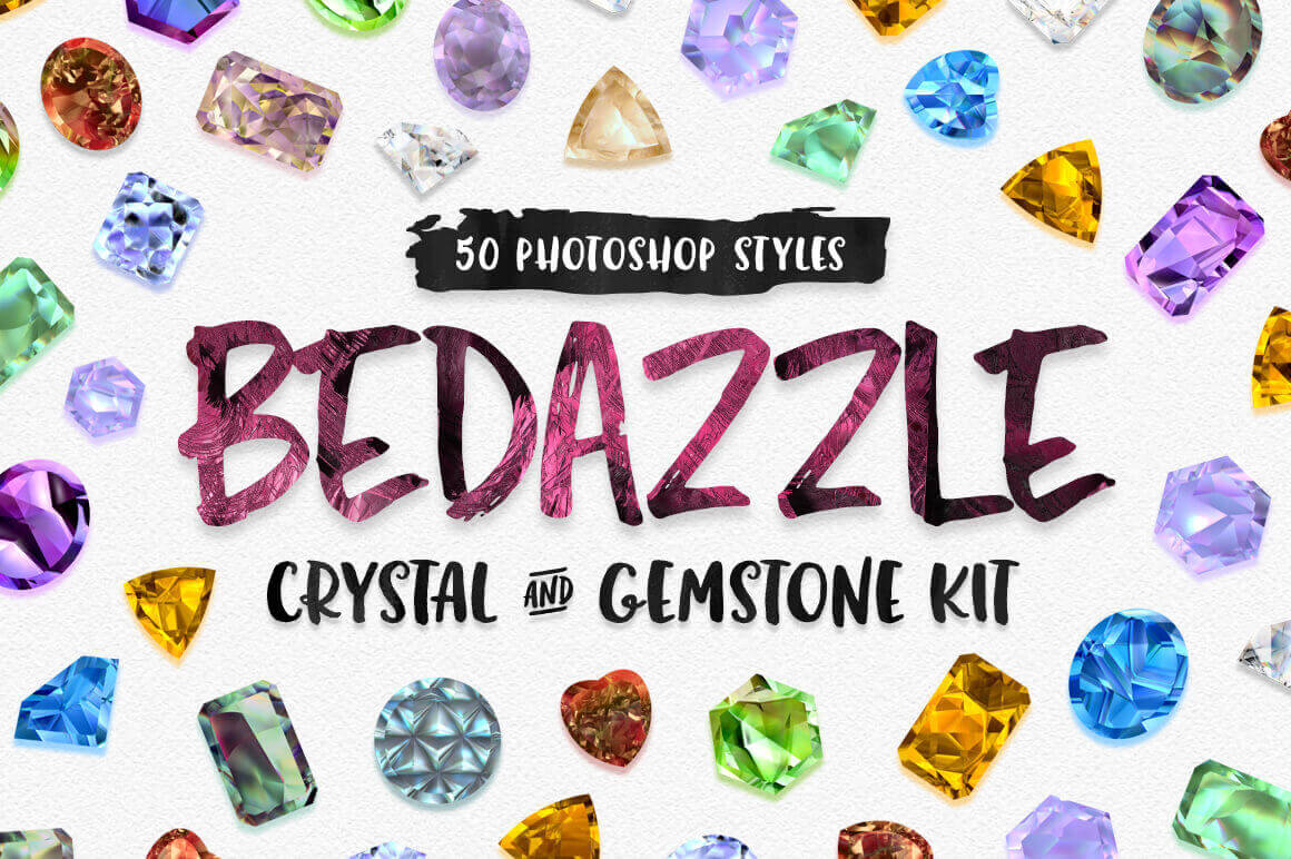 Bedazzle Crystal & Gemstone Kit – only $7!