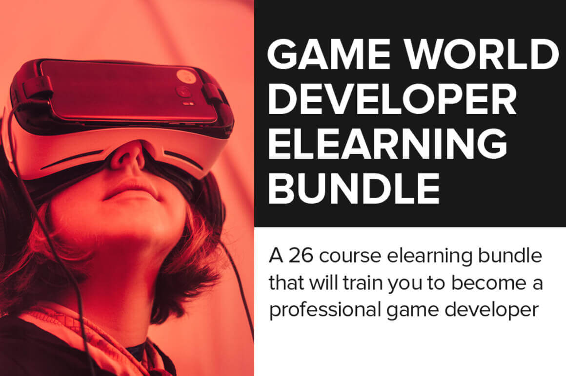 Game World Developer eLearning Bundle – only $25!