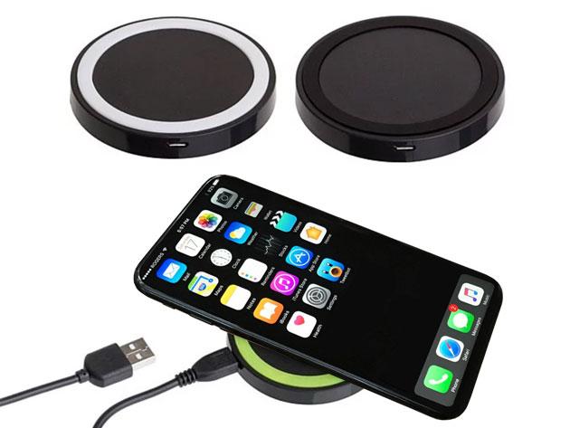 Mini Qi Wireless Charging Pad for $11