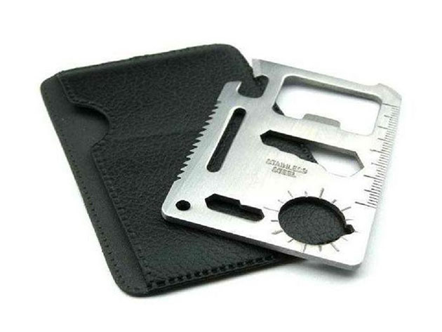Wallet Sized Pocket Multi-Tool: 2-Pack for $9