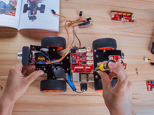SunFounder Raspberry Pi Robot Kits for $149