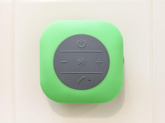 XXL Shower Speaker (Green) for $19